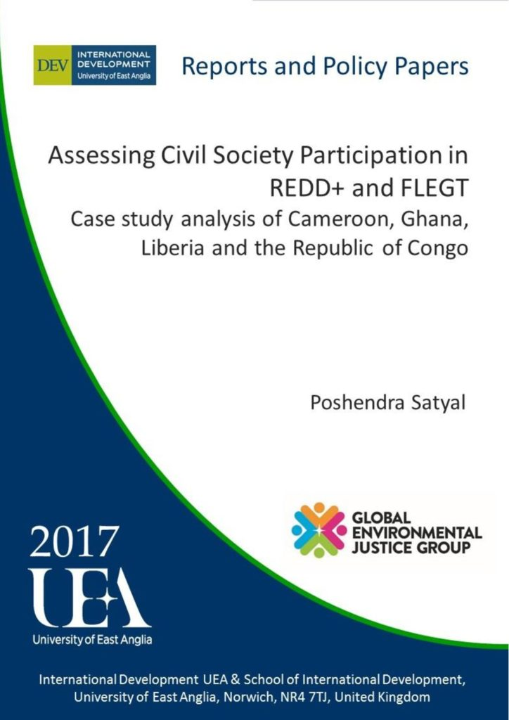 Assessing Civil Society Participation in REDD+ and FLEGT